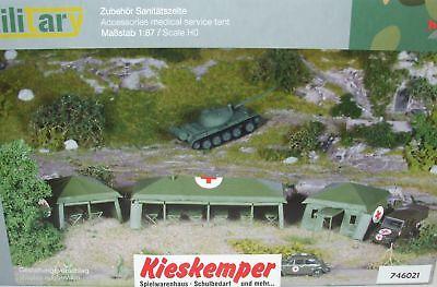 746021 Herpa Military Kit Di Costruzione Campo Caserma Esercito Tedesco 1:87