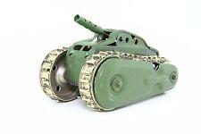 Blechspielzeug tin toy pennytoy - Panzer mit Uhrwerkantrieb und Feuerstein DRGM