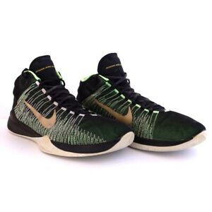 best service 7b7bc 7ca86 Image is loading NIKE-MENS-SIZE-13-ZOOM-ASCENTION-GREEN-GOLD-