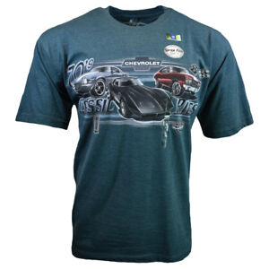 CHEVY-Mens-Tee-T-Shirt-M-L-XL-XXL-Logo-American-Muscle-Car-Racing-Graphic-SS-NEW