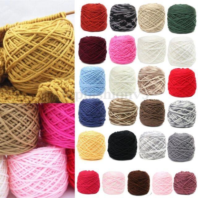 200G Maglia Mano Lana Gomitoli Filati maglieria Filato 100% Cotone Knitting Wool