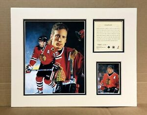 Chicago Blackhawks JEREMY ROENICK 1995 Hockey 11x14 MATTED Kelly Russell