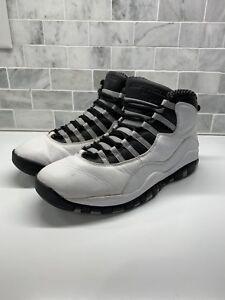 official photos 2cb04 80a4c Details about Air Jordan 10 X Steel Size 12