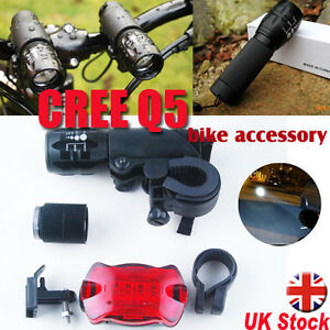 2-x-Upgraded-CREE-Q5-7W-LED-Cycling-Mountain-Bike-Bicycle-Torch-Head-Front-Light