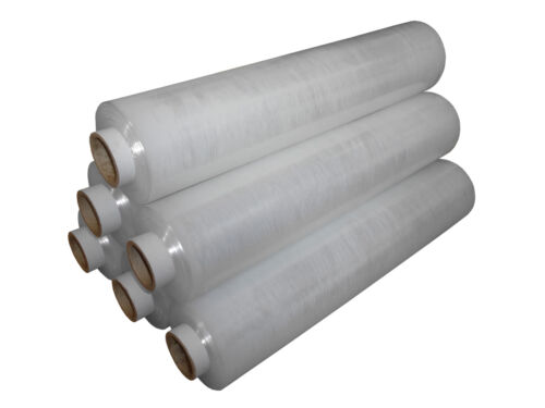 Heavy Duty Clear Pallet Wrap shrinkwrap Stretch Film 500mm 22mu Non-Extended