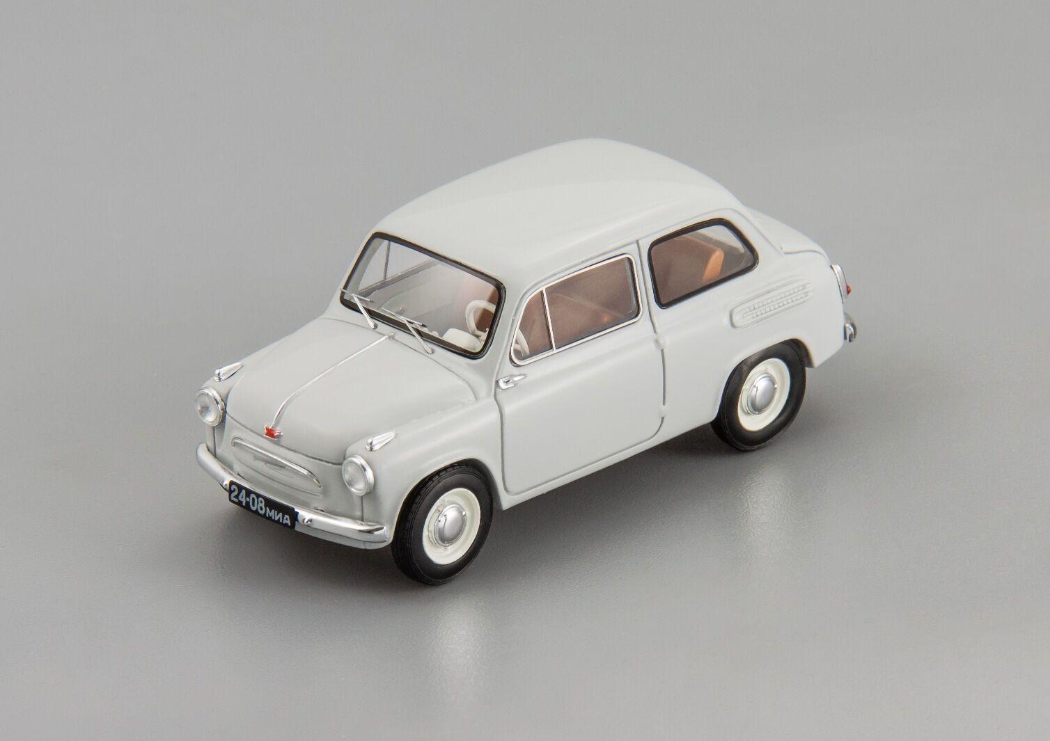 ЗАЗ-965 1960 г. (светло-серый)   ZAZ-965 DiP models 1 43 Lim. 360 pcs. SALE