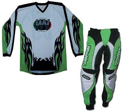 Maglia maglietta per mini moto da cross quad bmx bimbo bambino 6 8 10 12 anni