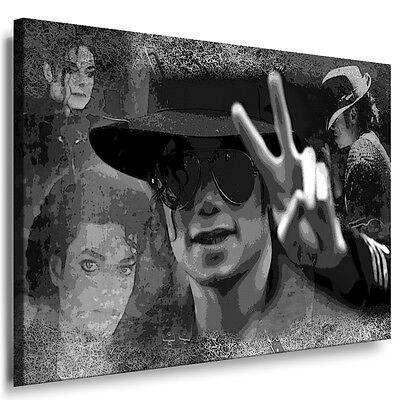 Bild auf Leinwand Michael Jackson Kunstdruck Wandbild Gemälde - Poster Bilder