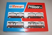 Roco 44008 Zirkuswagen-Set Krone 1:87 Spur H0 OVP