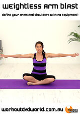 Barre Toning EXERCISE DVD - Barlates Body Blitz - WEIGHTLESS BALLET ARMS!