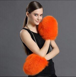 Jacket Warm Nyt Fox ægte Frakke 6colors 100 Fur Real Kvinder Gloves Hånd Vinter qSa0UwgF7