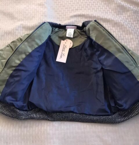 4T Toddler Girls Little Lass Embroidered Bomber Jacket Tee and Jeggings set.