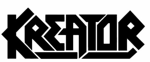 Kreator Metal Band Vinyl Decal BOGO  Free Shipping Great Color Selection