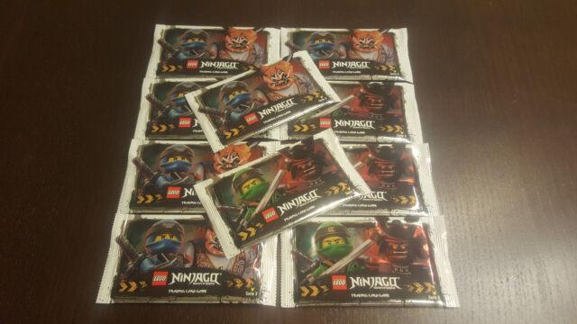 Lego® Ninjago™ Serie 3 Trading Cards 10 Booster - 50 Karten