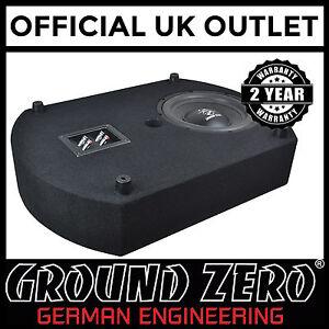 Ground-Zero-GZCS-10SUB-10-034-300W-Spare-Wheel-Bass-Enclosure-Car-Subwoofer-Box