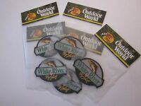 Bass Pro Shops White River Fly Patch 2 Outdoor World 4x3 Inches Factory Sealed