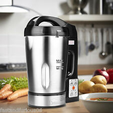 800W Electric Stainless Steel Soup Maker Machine Blender with 56Oz Capacity HOT