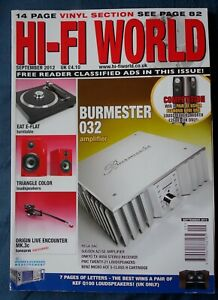 Details about HI-FI WORLD MAGAZINE SEPT 2012- REVIEWS ON AMPS/ SPEAKERS/  CARTRIDGE /TURNTABLE