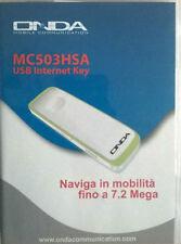 Chiavetta internet Usb Internet Key Onda MC503HSA 7.2mega