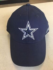 a2b941c47b5 DALLAS COWBOYS REEBOK NAVY HAT ONE SIZE FITS ALL STRETCH FIT FREE ...