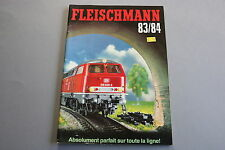 X062 FLEISCHMANN Train catalogue Ho N Rallye Monte Carlo 1983 84 160 pages F