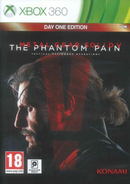 METAL GEAR SOLID V THE PHANTOM PAIN FRANCAIS ++ 100% NEUF ++ KONAMI XBOX 360