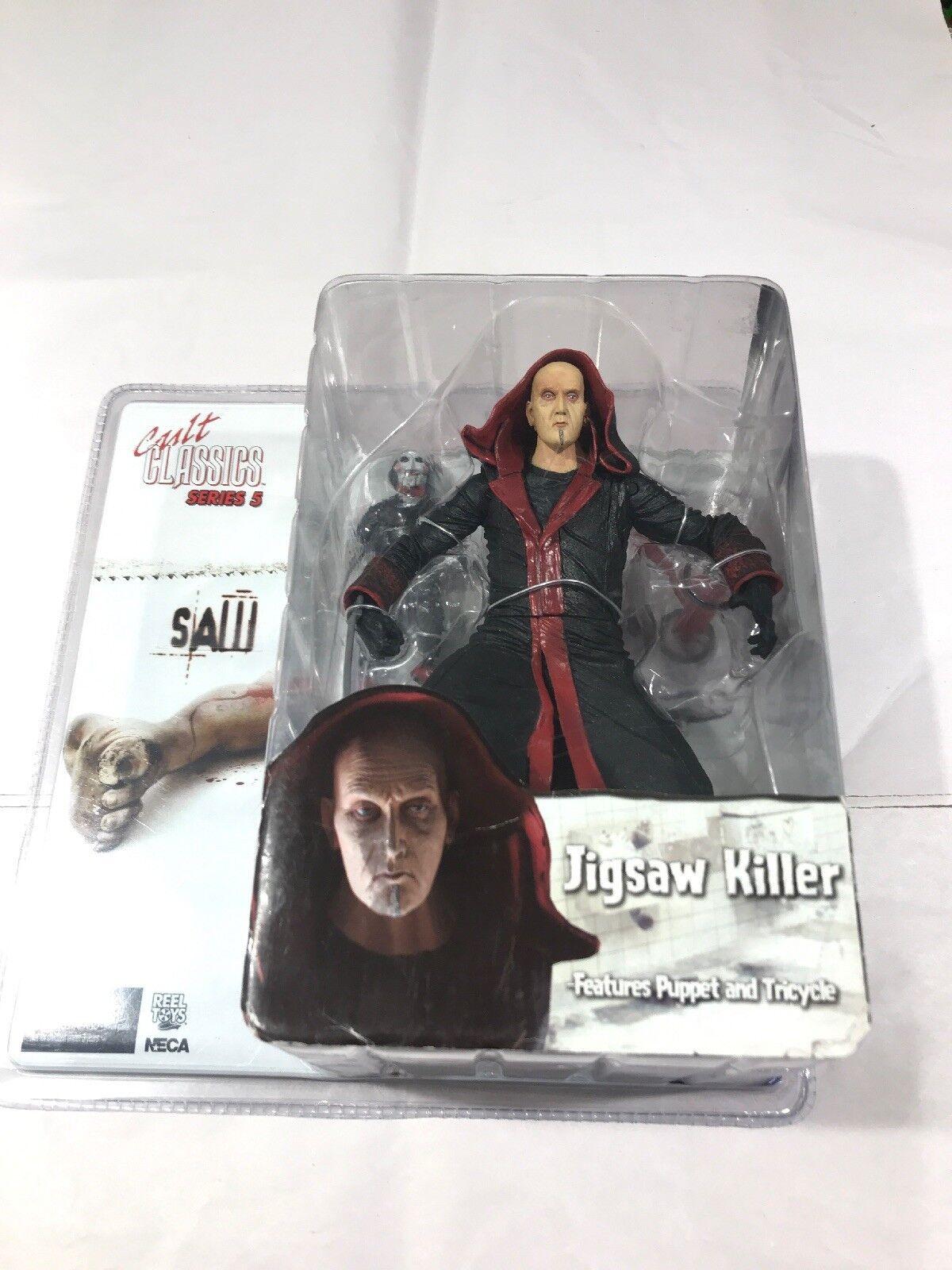 NECA Cult Classics Series 5 Saw Jigsaw Killer Action Figure Brand New