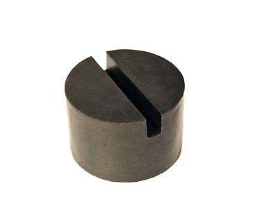 Black Rubber Slotted Floor Jack Pad Frame Rail Adapter For Pinch Weld  C HV
