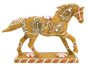 Trail-of-Painted-Ponies-GINGERBREAD-PONY-FIGURINE-New-in-Box-Westland-Giftware