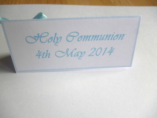 4-5-6-10 cartons avec croix-sainte communion baptême Baptême etc