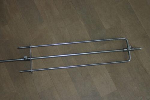 Edelstahl Grillspiess 80 cm Grillspieß