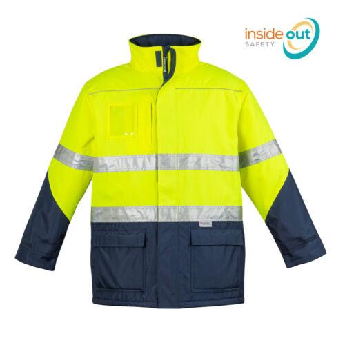 Syzmik Workwear Mens Hi Vis Waterproof Storm Jacket ZJ350