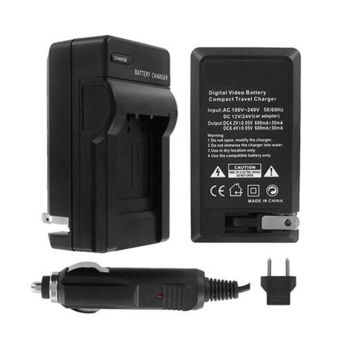 110//220v with Auto /& EU adapters UltraPro Canon NB-7L Rapid Battery Charger