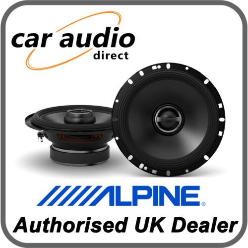 """Alpine S-S65 16.5cm 6.5/"""" 240W 2-Way Radio Estéreo Audio Coaxial Altavoces Puerta"""