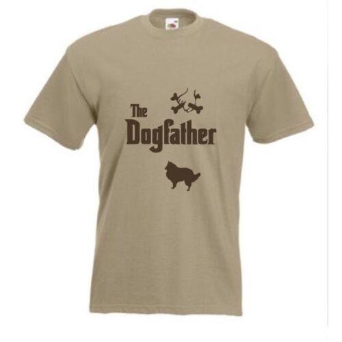 Le dogfather Shetland sheepdog sheltie collie qui mène T-shirt Chien T-shirt toutes tailles