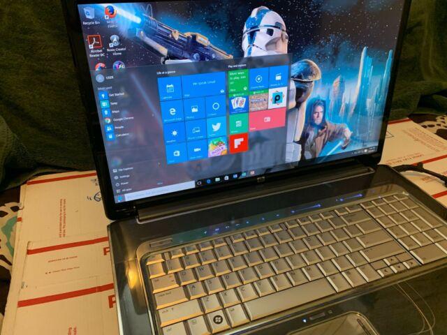 """HP HDX18-1180us     18.4""""(750GB,QUAD Q9000,2.0GHz,4GB,HDMI)Win7&Win10 OFFICE2016"""