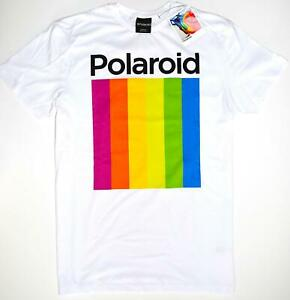 POLAROID-T-SHIRT-MENS-PRIMARK-WHITE-100-COTTON-UK-Size-XXL