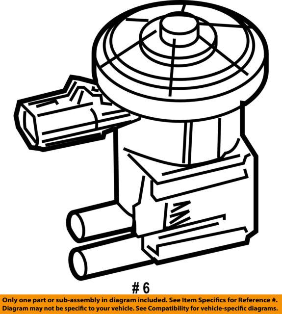 Vapor Canister Purge Solenoid Mopar 4669569 For Sale Online