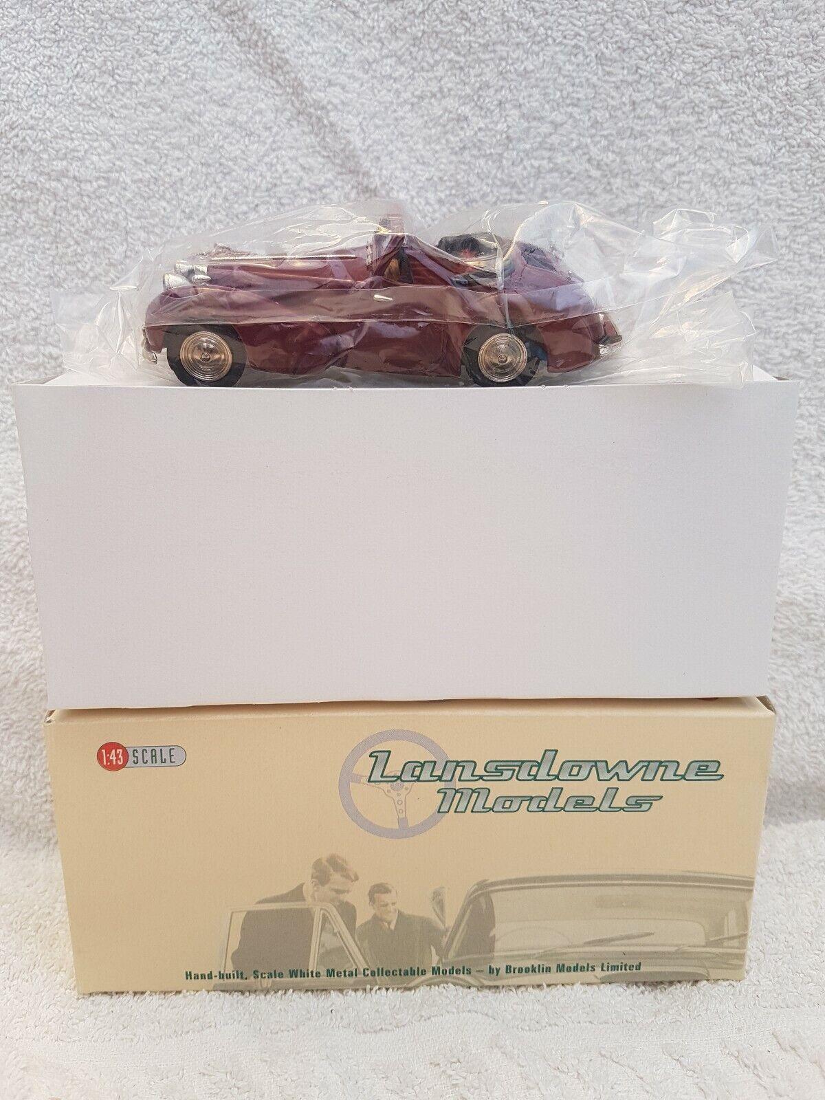 più preferenziale LANSDOWNE modellololi in scala 1 43 LDM37 LDM37 LDM37 - 1949 TRIUMPH 2000 stradaster BERGERAC-Amaranto  prodotti creativi