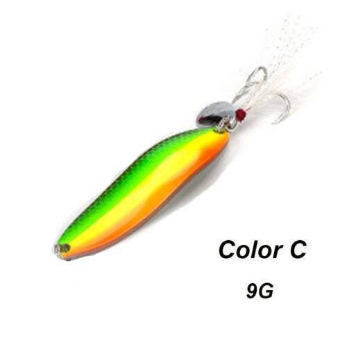 Sequins Noise Paillette Crank Bait Spoon Spinner Crack Fishing Metal Lures