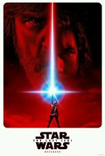 2017 Star Wars Celebration The Last Jedi Episode VIII Movie HQ NEW Poster 27×40""