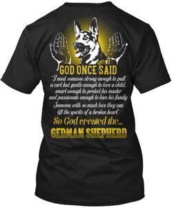 Casual-German-Shepherd-God-Once-Said-So-Created-The-Hanes-Tagless-Tee-T-Shirt