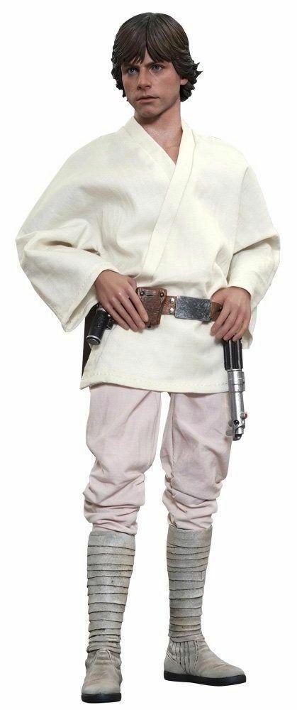 Film Masterpiece Star Wars Episode 4 Luke Skywalker 1 6 Actionfigur Hot Toys