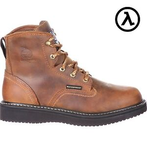 3deab9fbe6b Details about GEORGIA BOOT WATERPROOF WEDGE WORK BOOTS GB00124 - ALL SIZES  - SALE