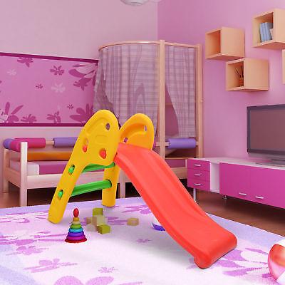 HOMCOM Kinderrutsche Rutsche Kinder Gartenrutsche Spielzeug Slide Babyrutsche