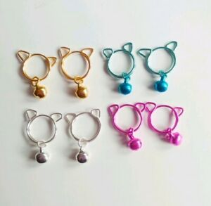 Cute Kitten Huggers Nipple Rings Clip On Jewellery Non Piercing