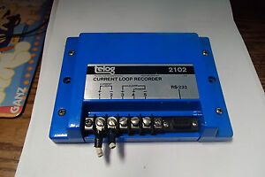 Model 2102-42 Current Loop Recorder Nice Telog Recorder With Rs-232 Promote The Production Of Body Fluid And Saliva