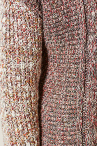 Medium Nw Cardigan Motif Sweater Woodhouse Moth Størrelse Ta Anthropologie Marled Red BwROpqcX
