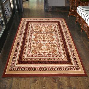 Das Bild Wird Geladen Teppich  Klassisch Orientalisch In Braun Ornamente Laeufer Klein