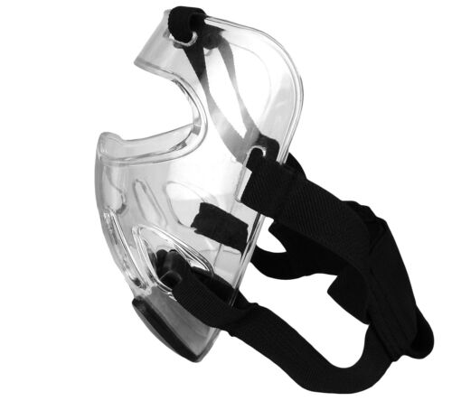 X2 NEW Martial Arts Clear Mask Face Shield for Sparring Head Gear